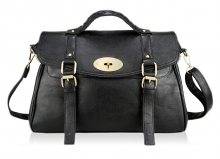 Alexa Satchel (Black)