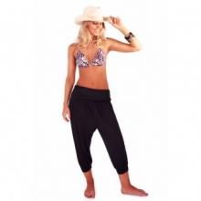 Hattie Harem Beach Pants (Black)