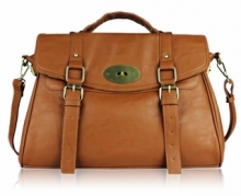 Alexa Satchel (Brown)