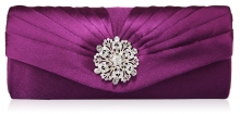 Rubi Diamond Broche Clutch