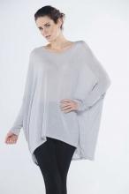 Celine Oversize Batwing Tunic Dress