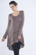 Lanie Jersey Overlay Dress