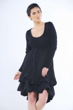 Lexi Angora Parachute Dress