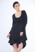 Lexi Angora Parachute Dress