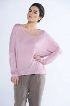 Mimi Fine Knit Batwing Top